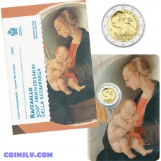 2 Euro San Marino 2020 - 500th anniversary of the death of Raphael