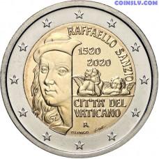 2 Euro Vatican 2020 - 500th Anniversary of the death of Raphael Sanzio