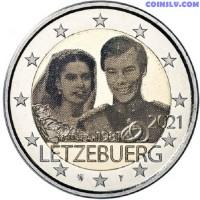 2 Euro Luxembourg 2021 - Marriage of Grand Duke Henri (foto)