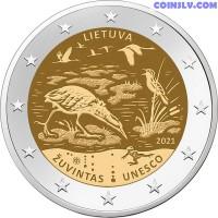 2 Euro Lithuania 2021 - Žuvintas Biosphere Reserve