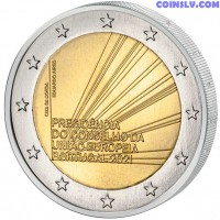 2 Euro Portugal 2021 - Portuguese Presidency of the Council of the EU