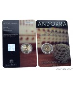 "2 Euro Andorra 2016 ""25th anniversary of the Radio and Television of Andorra"""