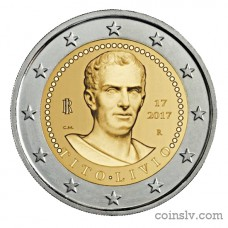 "2 Euro Italy 2017 ""Bimillenary of the death of Titus Livius"""