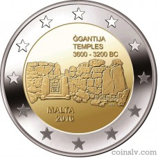 "2 Euro Malta 2016 ""Ġgantija Temples"""