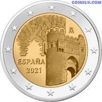 "2 Euro Spain 2021 ""Toledo"""