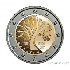 "2 Euro Estonia 2017 ""Estonia's Independence"""