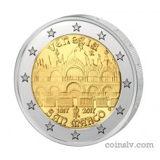 "2 Euro Italy 2017 ""400th Anniversary of the completion of the Basilica of San Marco in Venice"""