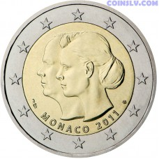 2 euro Monaco 2011 - The wedding of Prince Albert and Charlene