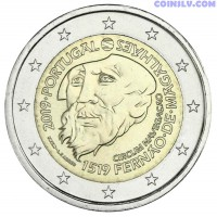 2 Euro Portugal 2019 - 500 Years of Magellan's circumnavigation