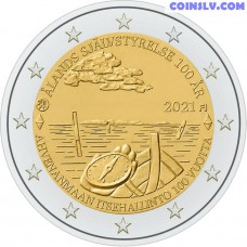 2 Euro Finland 2021 - 100th anniversary of self-government in the Åland Islands