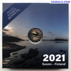 2 Euro Finland 2021 - 100th anniversary of self-government in the Åland Islands (PROOF)