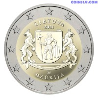 2 Euro Lithuania 2021 - Dzūkija