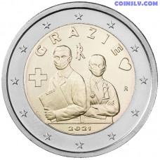 2 Euro Italy 2021 - Healthcare professionals