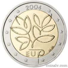 "2 euro Finland 2004 ""Enlargement of the European Union by ten new Member States"""