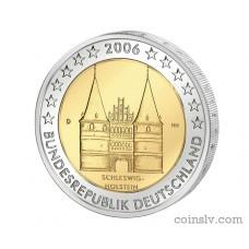 """2 euro Germany 2006 """"Schleswig - Holstein """"Holstentor"""""""" (D)"""