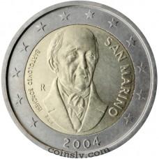 "2 euro San Marino 2004 ""Bartolomeo Borghesi"""