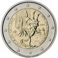 "2 euro Vatican 2008 ""The Year of Saint Paul"""