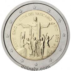 "2 euro Vatican 2013 ""28th World Youth Day in Rio de Janeiro"""