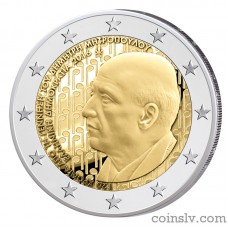 "2 Euro Greece 2016 ""120 years from the birth of Dimitri Mitropoulos"""