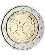 "Coincard 2 euro Belgium 2009 ""10 years of Economic and monetary union"""