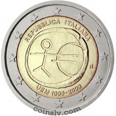 "2 euro Italy 2009 ""10 years of Economic and monetary union"""