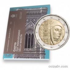 "2 Euro San Marino 2017 ""The 750th anniversary of the birth of Giotto"""
