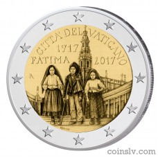 "2 Euro Vatican 2017 ""Centenary of the Fatima apparitions"""