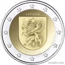 """2 Euro Latvia 2016 """"Vidzeme"""""""