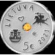 Collector Euro coins of Lithuania (silver / gold)
