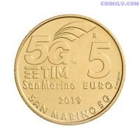 "5 euro San Marino 2019 ""5G Network"""