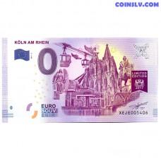 0 Euro banknote 2017 Germany -Koln Am Rhein 3