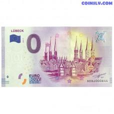 0 Euro banknote 2017 Germany -Lübeck