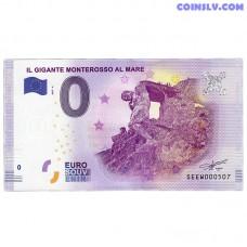 0 Euro banknote 2017 Italy -Monterosso