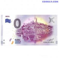 0 Euro banknote 2017 Spain -Ibiza