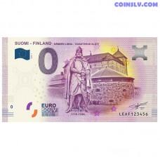 "0 Euro banknote 2018 Finland ""Hameen Linna"""