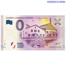 "0 Euro banknote 2018 Finland ""Lasimuseo"""