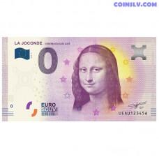 """0 Euro banknote 2018 France """"La Joconde MONA LISA"""""""