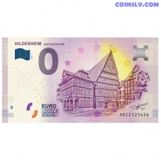 "0 Euro banknote 2018 Germany ""HILDESHEIM"""