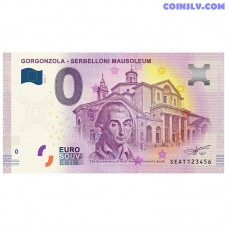 "0 Euro banknote 2018 Italy ""GORGONZOLA"""