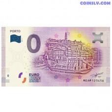 """0 Euro banknote 2018 Portugal """"PORTO"""""""