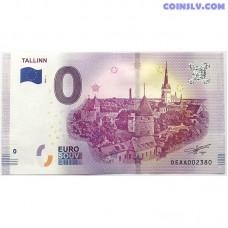 0 Euro banknote 2018 - Tallinn