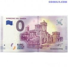 0 Euro banknote 2018 - Sirmione del Garda