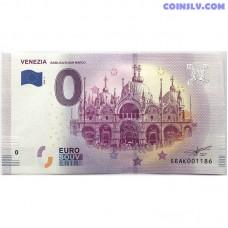 0 Euro banknote 2018 - Venezia Basilica di San Marco