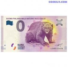 "0 Euro banknote 2019 Finland ""GULO GULO"""