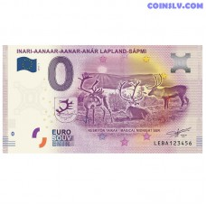 """0 Euro banknote 2019 Finland """"INARI AANAAR"""""""