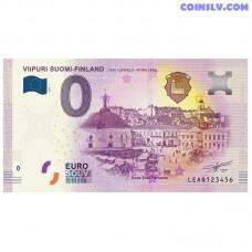 "0 Euro banknote 2019 Finland ""VIIPURI"""