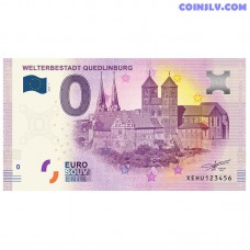 "0 Euro banknote 2019 Germany ""QUEDLINBURG"""