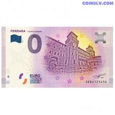 """0 Euro banknote 2019 Italy """"FERRARA"""""""