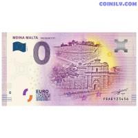 "0 Euro banknote 2019 Malta ""MDINA"""