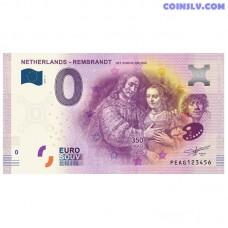 """0 Euro banknote 2019 Netherlands """"REMBRANDT HET JOODSE BRUIDJE"""""""
